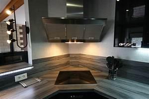 Hotte De Cuisine Pas Cher : hotte cuisine angle maison et mobilier d 39 int rieur ~ Dallasstarsshop.com Idées de Décoration