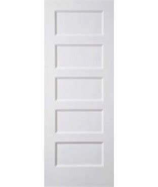 conmore primed  panel smooth door