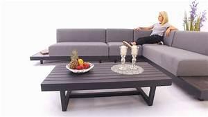 Lounge Auflagen Wetterfest : outdoor lounge toronto grau wetterfest sunbrella stoff youtube ~ A.2002-acura-tl-radio.info Haus und Dekorationen