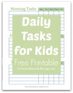 Printable Daily Task List