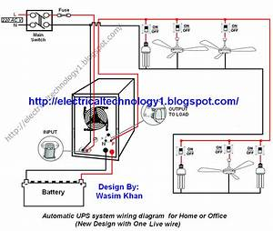 Ups Wiring Diagram Pdf