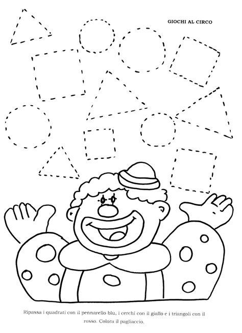 figure da colorare disegni con figure geometriche