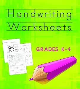 amazoncom handwriting worksheets cd  top quality