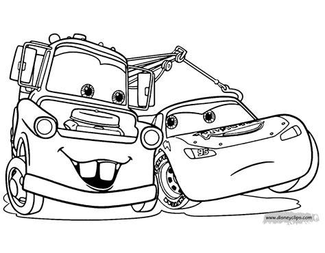 Disney Pixars Cars Coloring Pages Disneys World Of Wonders