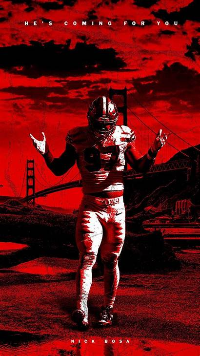 49ers Wallpapers Bosa Francisco San Nick Niketalk