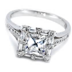white gold engagement rings white gold princess cut wedding rings ipunya