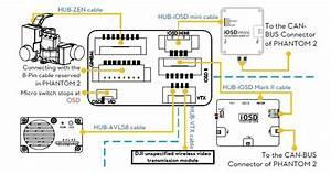 Kit Transmisor Videolink Dji Avl 5 8ghz   Antena