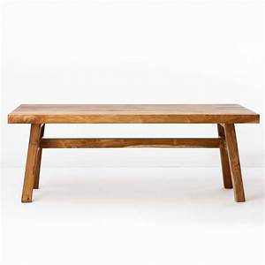 Java farmhouse coffee table reclaimed teak furniture for Reclaimed teak wood coffee table
