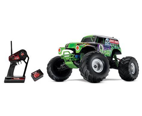monster jam rc trucks for sale traxxas grave digger monster jam 1 10 electric rtr rc