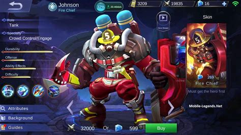 Johnson Guidetips And Build 2018  Mobile Legends
