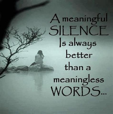 meaningful silence desicommentscom