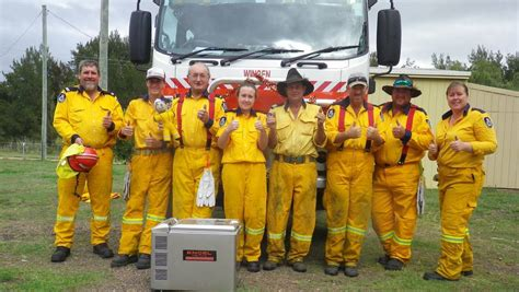 Upper Hunter NSW RFS volunteers recognised for many years ...