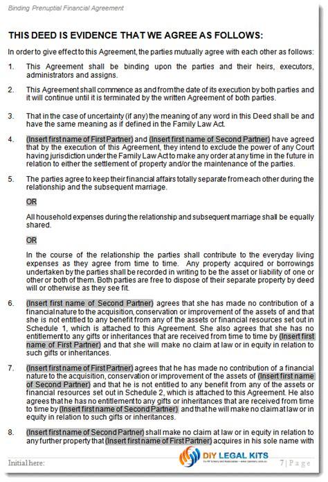 prenuptial agreement prenup contract prenuptual financial