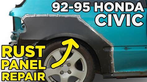 civic panel quarter honda repair rust rear eg rocker