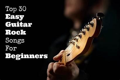 Guitar Songs Rock Beginners Easy Play Guitarhabits