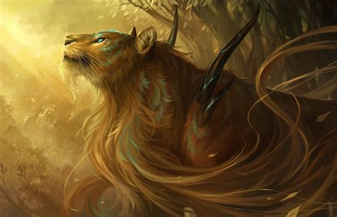 fantasy wildlife abstract animal creative design art hd
