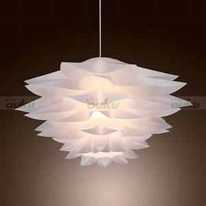 New modern white pvc ceiling light pendant lamp living