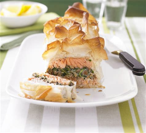 ultimate makeover salmon en croute bbc good food