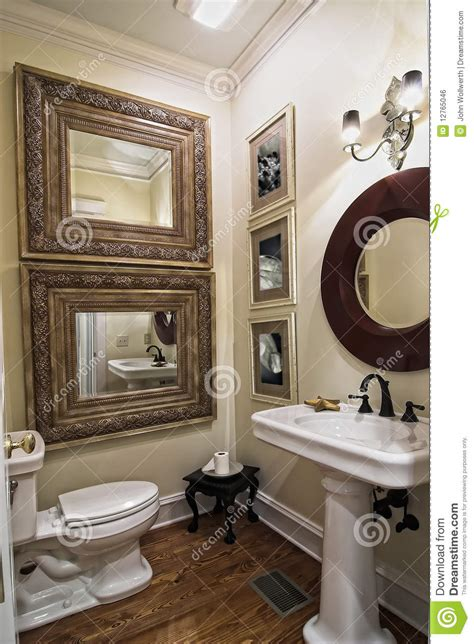 elegant simple bathroom stock photo image  painting