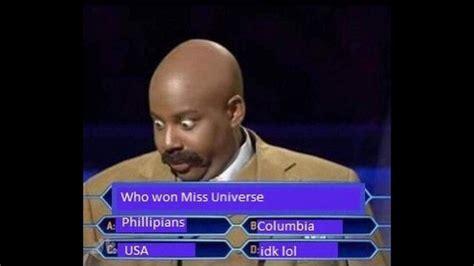 Miss Universe Memes - hauskat miss universum meemit levi 228 v 228 t netiss 228 katso kuvat