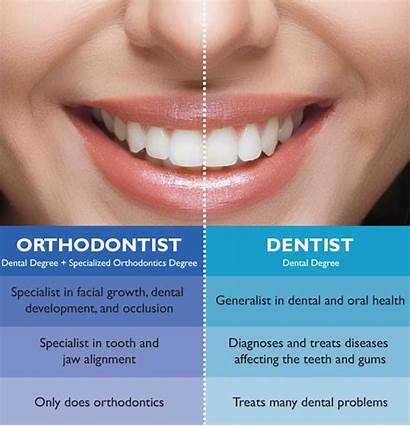 Dentist Orthodontist Between Difference Dentagama September