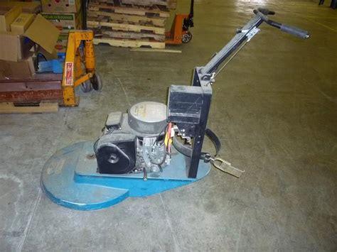propane floor buffer tank floor buffer propane power 101894 for sale used