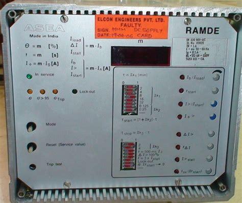 Asea Relay Ramde Abb Repair Synchronics Electronics