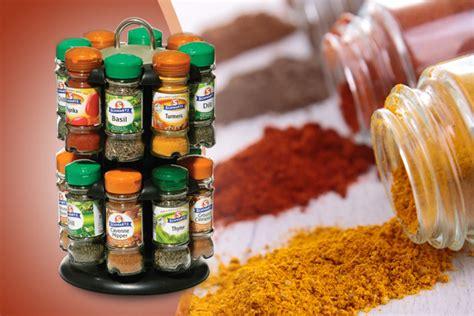 Schwarz Spice Rack by Spice Rack 16 Schwartz Spices Wowcher