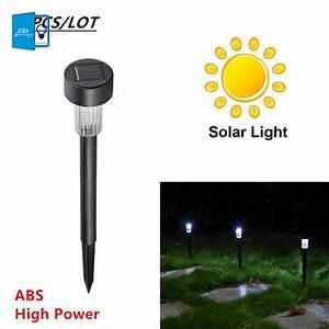 Solar Led Terrassenbeleuchtung : buy 5pcs lot high quality waterproof led solar lamps white spot light solar led ~ Sanjose-hotels-ca.com Haus und Dekorationen