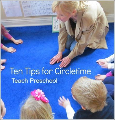 tips  circletime   preschool classroom teach