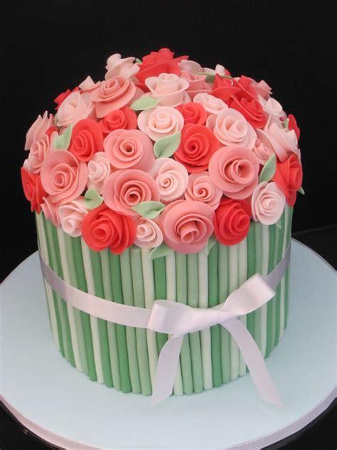 flower birthday cake flower bouquet birthday cake cake decorating community
