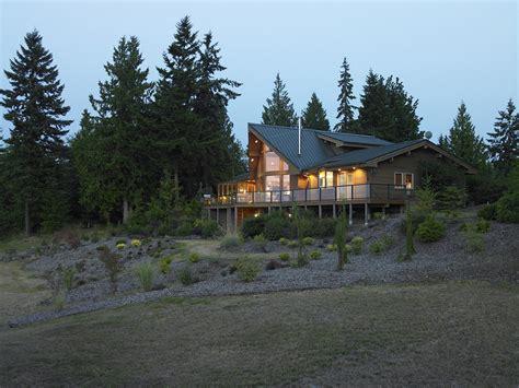 view side  prow  lindal cedar home  washington state