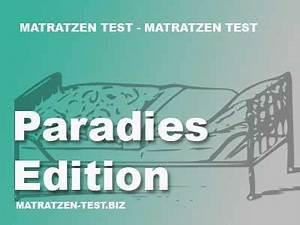 Paradies Edition Paratex Komfortschaummatratze : paratex paradies edition ~ Bigdaddyawards.com Haus und Dekorationen