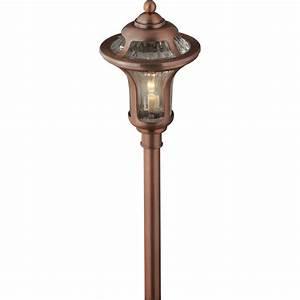 Portfolio landscape copper low voltage path light at