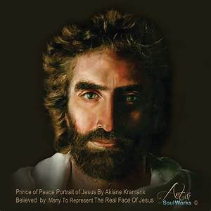 Jesus Painting ~ Heaven is for Real Face of Jesus – Art ...