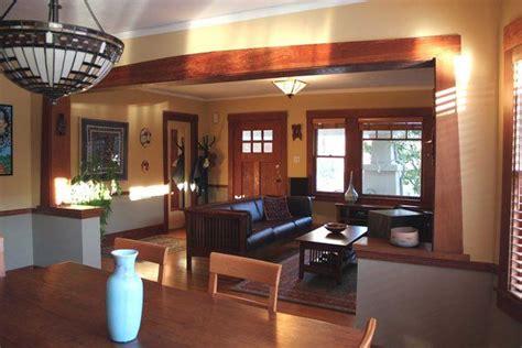 craftsman style bungalow homes decor interior decorating