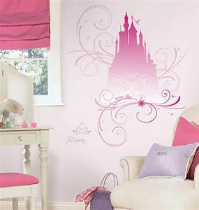 new giant disney princess scroll castle wall decals With castle wall decals