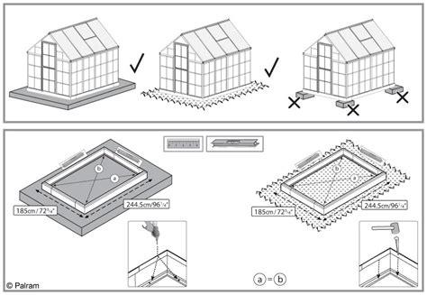 comment installer une serre o 249 et comment installer sa serre en verre ou en polycarbonate le magazine gamm vert