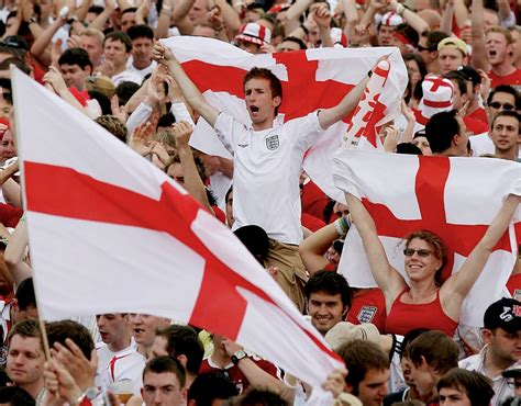Fifa World Cup England Fans Told Not Wave Flags