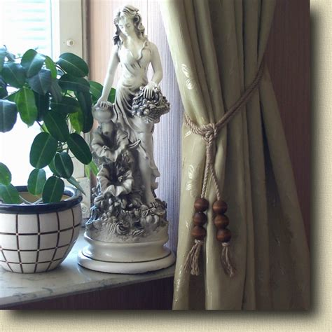 how to install tie backs for curtains images