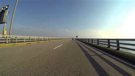 Motorcycle Ride Over The Chesapeake Bay Bridge Tunnel