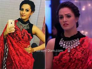 Shagun aka Anita Hassanandani designer sarees & blouse designs