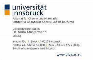 Visitenkarten Auf Rechnung Bestellen : visitenkarten universit t innsbruck ~ Themetempest.com Abrechnung