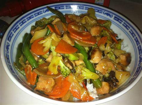 recette cuisine courgette sauté chinois au poulet et légumes de fabienne les recettes de cuisine des croquignols