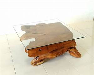 teak root square glass top coffee table prime liquidations With teak root coffee table glass top