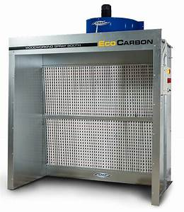 EcoCarbon Woodworking Spray Booth - CWI Woodworking