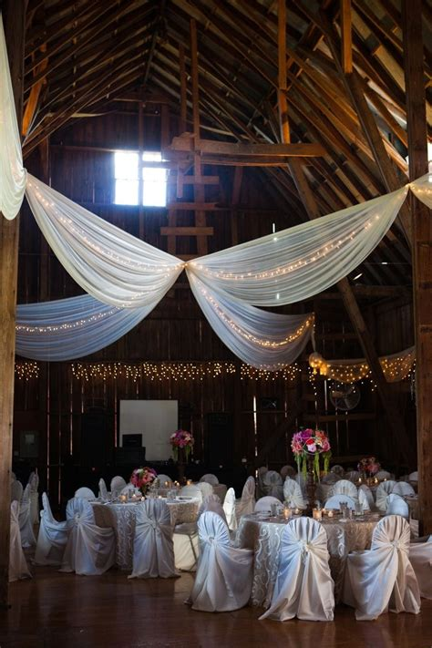 Lovely Farm House Reception Decorations Wedding Rustic