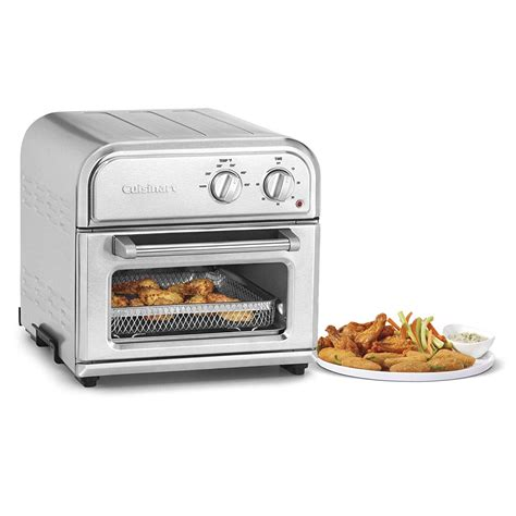 fryer air cuisinart afr oven fryers under basket stainless steel freidora caja aire toaster silver airfry drip tray pan electric