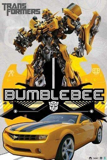 transformers poster camaro bumblebee rare hot   ebay