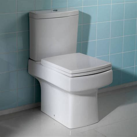 Genoa Close Coupled Toilet Inc Seat Victoria Plumb